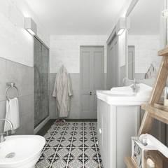 Apulia House AA: Bagno in stile  di De Vivo Home Design