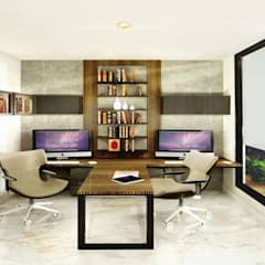 Study/office by PROYECTA_
