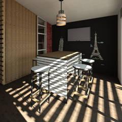 Concurso Ondas Modeladoras 07: Comedores de estilo industrial por a Arquitecto