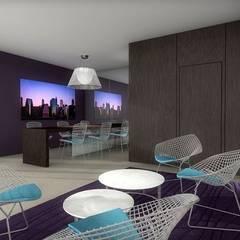 Hall d'entrée 3D: Lieux d'événements de style  par réHome