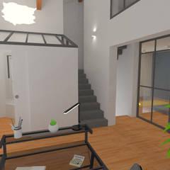 Décoration des pièces d'une maison - St Just Chaleyssin: Dressing de style de style Moderne par 1.61 design