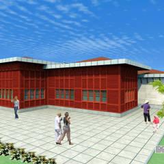 Bider Mimarlık İnşaat Ltd. Şti. – İBB Sosyal Tesis Projesi:  tarz Yeme & İçme