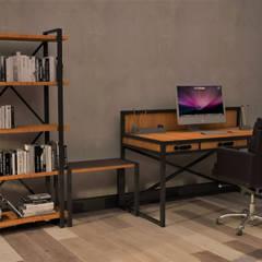 Atölye Teta – NK Evi Home Office Konsept Proje:  tarz Çalışma Odası