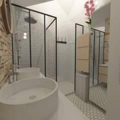 Salle de douche - Meylan: Salle de bains de style  par 1.61 design