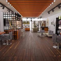 Atölye Teta – Konsept Kuaför Projesi:  tarz Giyinme Odası