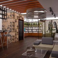 Atölye Teta – Konsept Kuaför Projesi: modern tarz Giyinme Odası