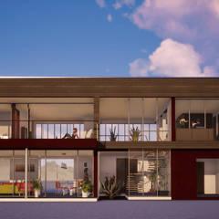 Projekty,  Willa zaprojektowane przez BIM Urbano