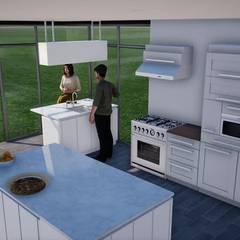 Cocina: Cocinas equipadas de estilo  por BIM Urbano