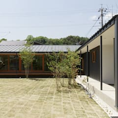 Wooden houses by toki Architect design office
