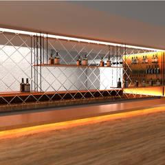 Caprıola – DERİ DUVAR PANELLERİ:  tarz Bar & kulüpler