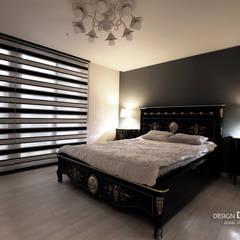 폴딩도어로 확장감을 준 매력적인 아파트_황학동 롯데캐슬46py 디자인담다: 디자인담다의  침실