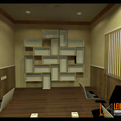 Meeting Room Renovation:  Ruang Kerja by CV Leilinor Architect