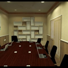 Meeting Room Renovation: Ruang Kerja oleh CV Leilinor Architect,