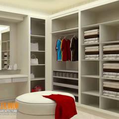 : Ruang Ganti oleh CV Leilinor Architect, Modern