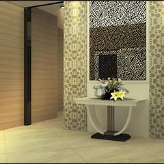 : Koridor dan lorong oleh CV Leilinor Architect,