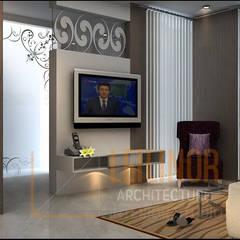 Rumah Modern:  Kamar Tidur by CV Leilinor Architect