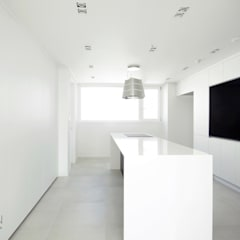 부산 해운대 센텀파크 아파트 인테리어: 로하디자인의  다이닝 룸