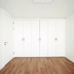 부산 해운대 센텀파크 아파트 인테리어: 로하디자인의  방