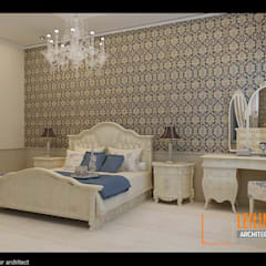 Morrocan Style Interior: Kamar Tidur oleh CV Leilinor Architect, Klasik