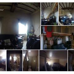 Rénovation d'un appartement canut - Lyon: Escalier de style  par 1.61 design