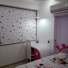 :  Girls Bedroom by DD Architects
