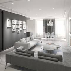 Plan 3D: Salle à manger de style  par réHome