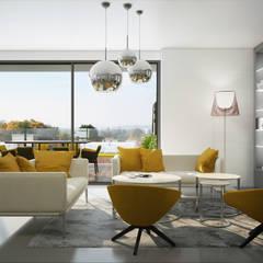 Salon design: Salon de style  par réHome