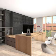 Bureaux bois: Bureaux de style  par réHome