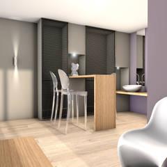 réfectoire bureaux : Bureaux de style  par réHome