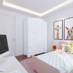 Duygu Solaker  – Kız Çocuk Odası:  tarz Kız çocuk yatak odası
