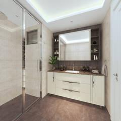 Duygu Solaker  – Genel Banyo: modern tarz Banyo