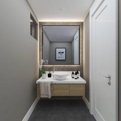 Duygu Solaker  – Misafir WC:  tarz Banyo