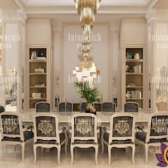 Living room design Miami of Katrina Antonovich: classic Living room by Luxury Antonovich Design