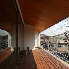 Terrasse de style  par 西島正樹/プライム一級建築士事務所