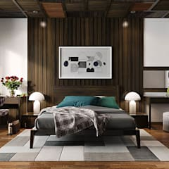 Bedroom by Công ty Thiết Kế Xây Dựng Song Phát,