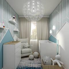 Burza piaskowa: styl , w kategorii Pokój dla dziecka zaprojektowany przez Creoline