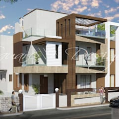 GURDEEP SINGH RAI:  Houses by Square 9 Designs