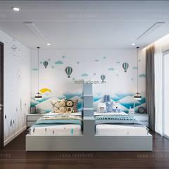 THIẾT KẾ BIỆT THỰ PALM CITY - Nét đẹp giao hòa trong không gian sống hiện đại:  Phòng trẻ em by ICON INTERIOR