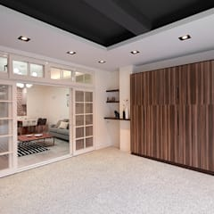 Garagens e edículas escandinavas por 層層室內裝修設計有限公司