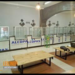 Canteen Renovation:  Kantor & toko by CV Leilinor Architect