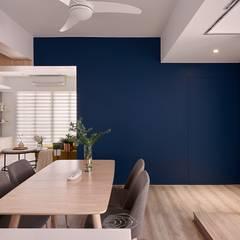 Dining room by 層層室內裝修設計有限公司, Scandinavian