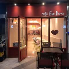 강남역 Cafe Eva Rosso: (주)스튜디오360플랜 의  계단