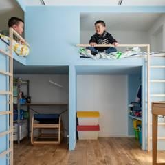 Renovation 203: 一色玲児 建築設計事務所 / ISSHIKI REIJI ARCHITECTSが手掛けた子供部屋です。