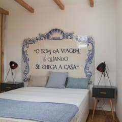 rustic Bedroom by aponto