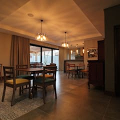 Dining Area:  Hotels by Projector & Sound Services (PTY) Ltd