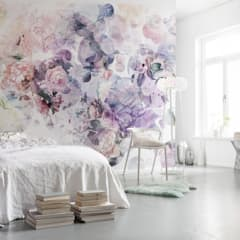 FOTOMURALES FLORALES : Paredes de estilo  por papeles pintados