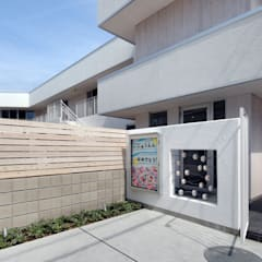 アプローチ: atelier mが手掛けた学校です。