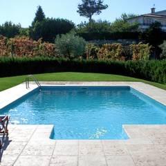 1 – Tenho um terreno grande: Piscinas de jardim  por Soleo