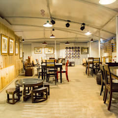 THE GALLERY CAFE  :  Commercial Spaces by Crafted Spaces