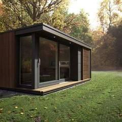 Casas ecológicas de estilo  por Construcciones F. Rivaz
